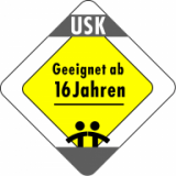 Approved for children aged 16 and above (Unterhaltungssoftware Selbstkontrolle - Germany)