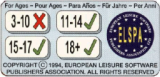 For ages 11+ (1994) (European Leisure Software Publishers Association - United Kingdom)