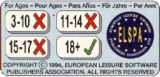 For ages 18+ (1994) (European Leisure Software Publishers Association - United Kingdom)