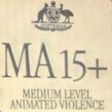Mature accompanied - Medium level animated violence (MA 15+) (Australian Classification Board - Australia)