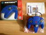 The picture of the Blue controller (Europe) accessory