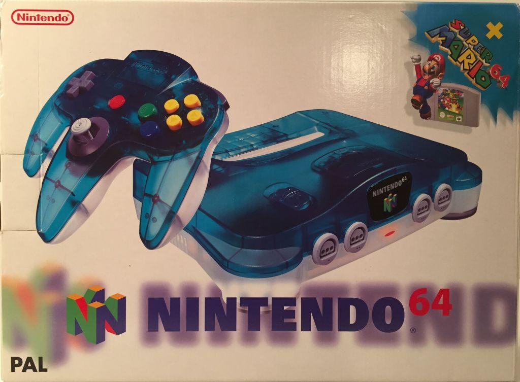 Nintendo64ever the nintendo 64 bundle nintendo 64 mario pack europe - Super nintendo 64 console ...