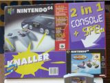 The picture of the 2-in-1 Console + Spel : Wave Race 64 (Netherlands) bundle