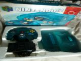 The picture of the Nintendo 64 : Une série fantastique : bleu glace (Canada) bundle