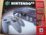 The picture of the Nintendo 64 Classic Pack (reprint) (Europe) bundle