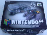 The picture of bundle Nintendo 64 Clear Black (Japan)