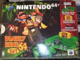 The picture of the Nintendo 64 Donkey Kong 64 Set (Canada) bundle