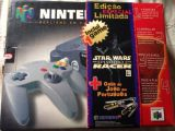 The picture of bundle Nintendo 64 Edição Especial Limitada Star Wars Racer (Brazil)