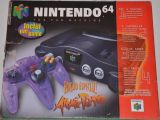 The picture of the Nintendo 64 Edição Especial! Atomic Purple inclui um Game (Brazil) bundle