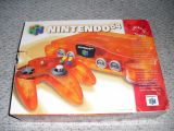 The picture of bundle Nintendo 64 Funtastic Series: Fire Orange (United States)