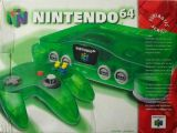 The picture of bundle Nintendo 64 Funtastic Series: Jungle Green (United States)