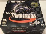 The picture of bundle Nintendo 64 Le Pack F1 World Grand Prix (France)