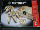 The picture of bundle Nintendo 64 Limited Edition Gold Control Deck (United States)