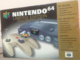 The picture of bundle Nintendo 64 Limited Edition Gold Controller (United Kingdom)