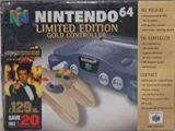 The picture of bundle Nintendo 64 Limited Edition Gold Controller + Goldeneye 007 (United Kingdom)