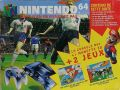 La photo du bundle Nintendo 64 Pack ISS 64 avec Super Mario 64 (France)
