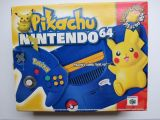 The picture of bundle Nintendo 64 Special Edition Pikachu (United States)