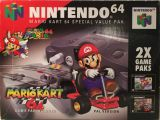 The picture of bundle Nintendo 64 Special Value Pak Mario Kart 64 (Sweden)