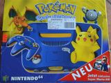 The picture of bundle Pokemon Pikachu Nintendo 64 inklusive Super Mario 64 (Germany)