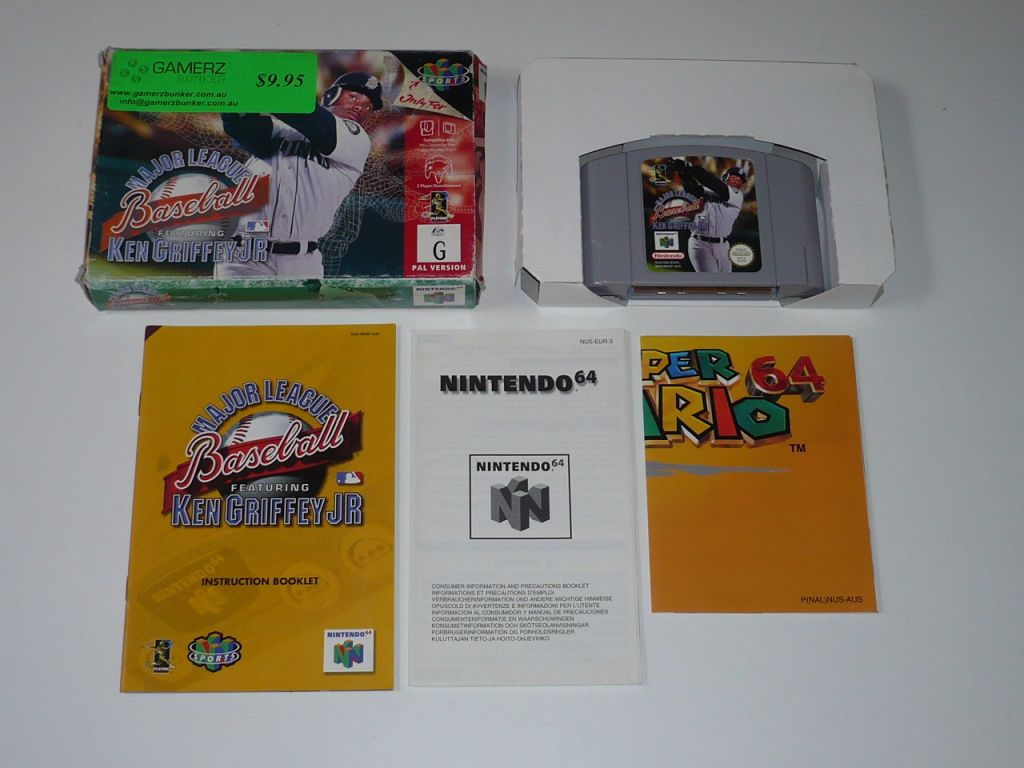 82c8f84d77 Nintendo64EVER - Major League Baseball Featuring Ken Griffey, Jr.