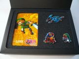 La photo du goodie Carte téléphonique et pin's Legend of Zelda: Majora's Mask (Europe)