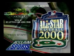Titre (All-Star Baseball 2000)