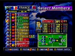 Gestion de l'équipe (International Superstar Soccer 98)