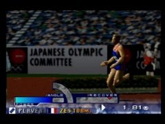 Saut en hauteur (International Track & Field 2000)