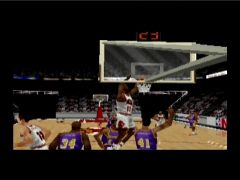 Un dunk (Kobe Bryant in NBA Courtside)