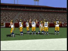 Ils ont l'air content. (Madden NFL 2000)
