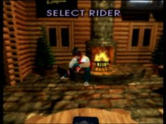 Rider selection (1080 Snowboarding)