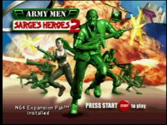 Titre (Army Men: Sarge's Heroes 2)
