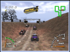 Départ! (Monster Truck Madness 64)