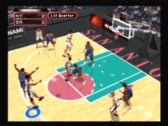 Shoot à 3 points (NBA In The Zone 2000)
