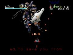 Boss mission 1 (Star Soldier: Vanishing Earth)