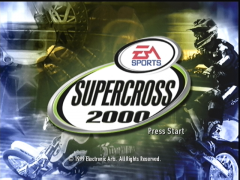 Ecran titre (Supercross 2000)