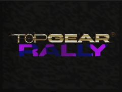 Ecran titre (Top Gear Rally)