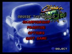 Ecran titre (Cruis'n World)
