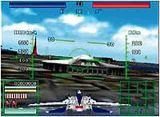 Aerofighters Assault, Sonic Wings Assault, Nintendo 64, screenshot combat dome