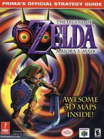 The picture of the book The Legend of Zelda: Majora's Mask: Prima's Official Strategy Guide
