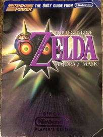 The picture of the book The Legend of Zelda: Majora's Mask: The Official Nintendo Player's Guide