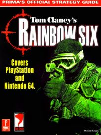 The picture of the book Tom Clancy's Rainbow Six: Prima's Official Strategy Guide