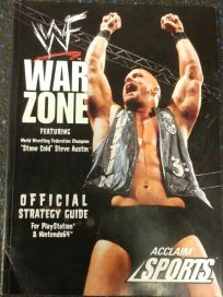 The picture of the book WWF War Zone: Official Strategy Guide