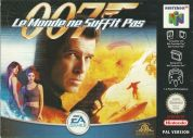 Scan of front side of box of 007 : Le Monde ne Suffit pas