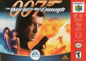 Scan of front side of box of 007: The World is not Enough