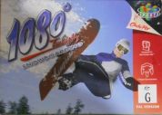 Scan of front side of box of 1080 Snowboarding