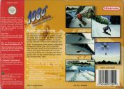 Scan of back side of box of 1080 Snowboarding