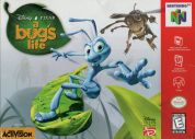 Scan of front side of box of A Bug's Life