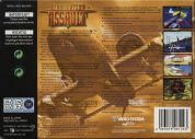 Scan of back side of box of Aero Fighters Assault