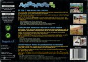 Scan of back side of box of Airboarder 64